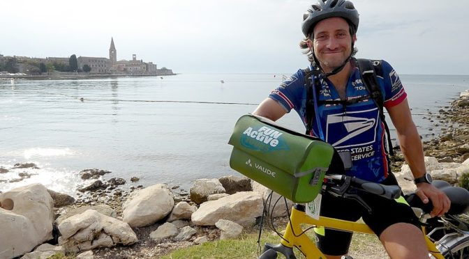 Discovering Portorose, Slovenia and Porec, Croatia at End of 8-day Self-Guided BikeTour from Venice