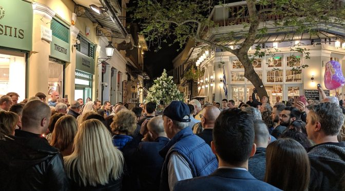 Global Scavenger Hunt, Leg 7: Greek Orthodox Easter in Athens