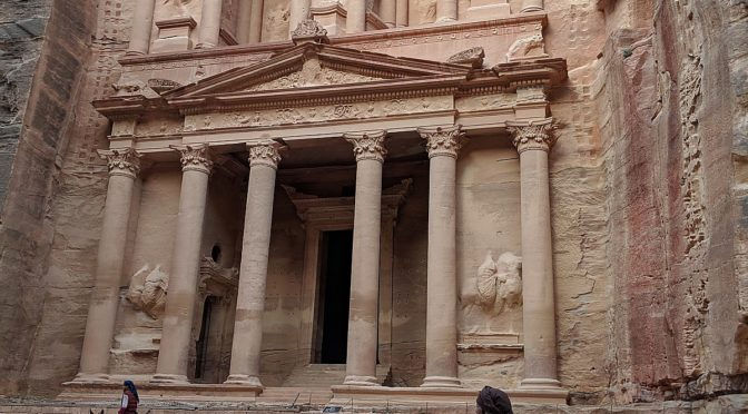 Global Scavenger Hunt, Leg 6: Petra, a True Wonder of the World, is Highlight of Jordan Challenge