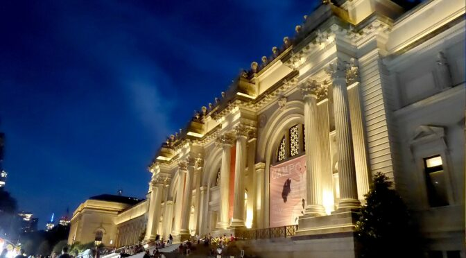 Staycation? New York City's Museums Transport in Time, Place and Space