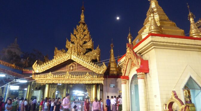 Global Scavenger Hunt, Leg 3: Myanmar, the Golden Land, Comes from Darkness into Light