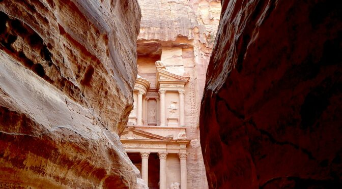 Ancient City of Petra is a Highlight of Global Scavenger Hunt in Jordan