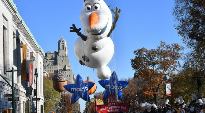 Macy's Thanksgiving Day Parade Kicks Off Holiday Season in New York City