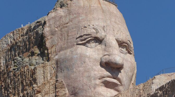 Discovering Marvels of Crazy Horse Memorial on Badlands, Black Hills & Mickelson Trail Bike Tour