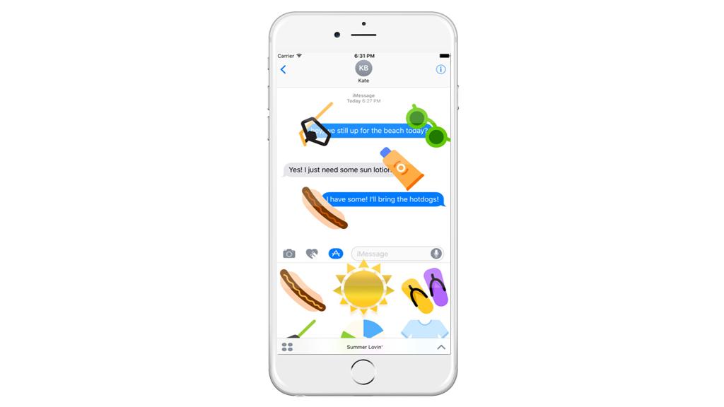 Summer-lovin-app-stickers-apple-