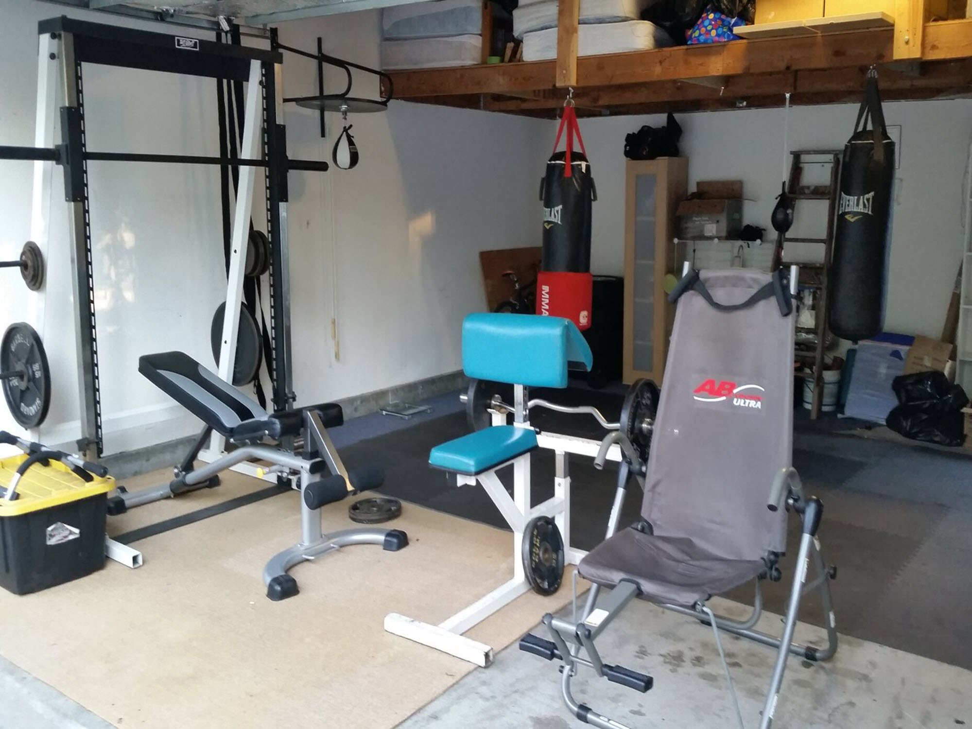Eldorado San Francisco Bay Area Sober Living with Gym and Workout Space