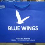 Blue Wings Laminated paper bag