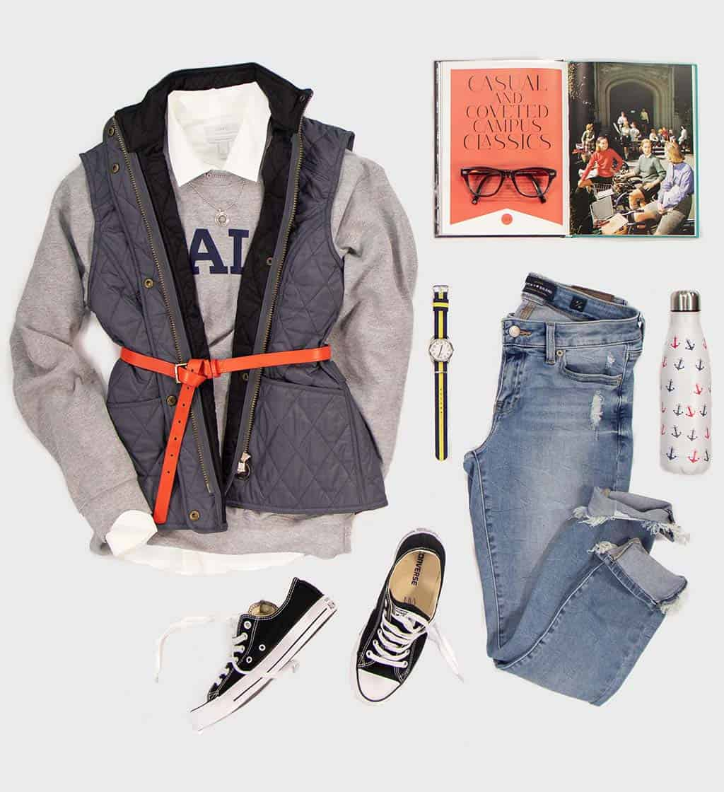Yale Sport Crew Outfit