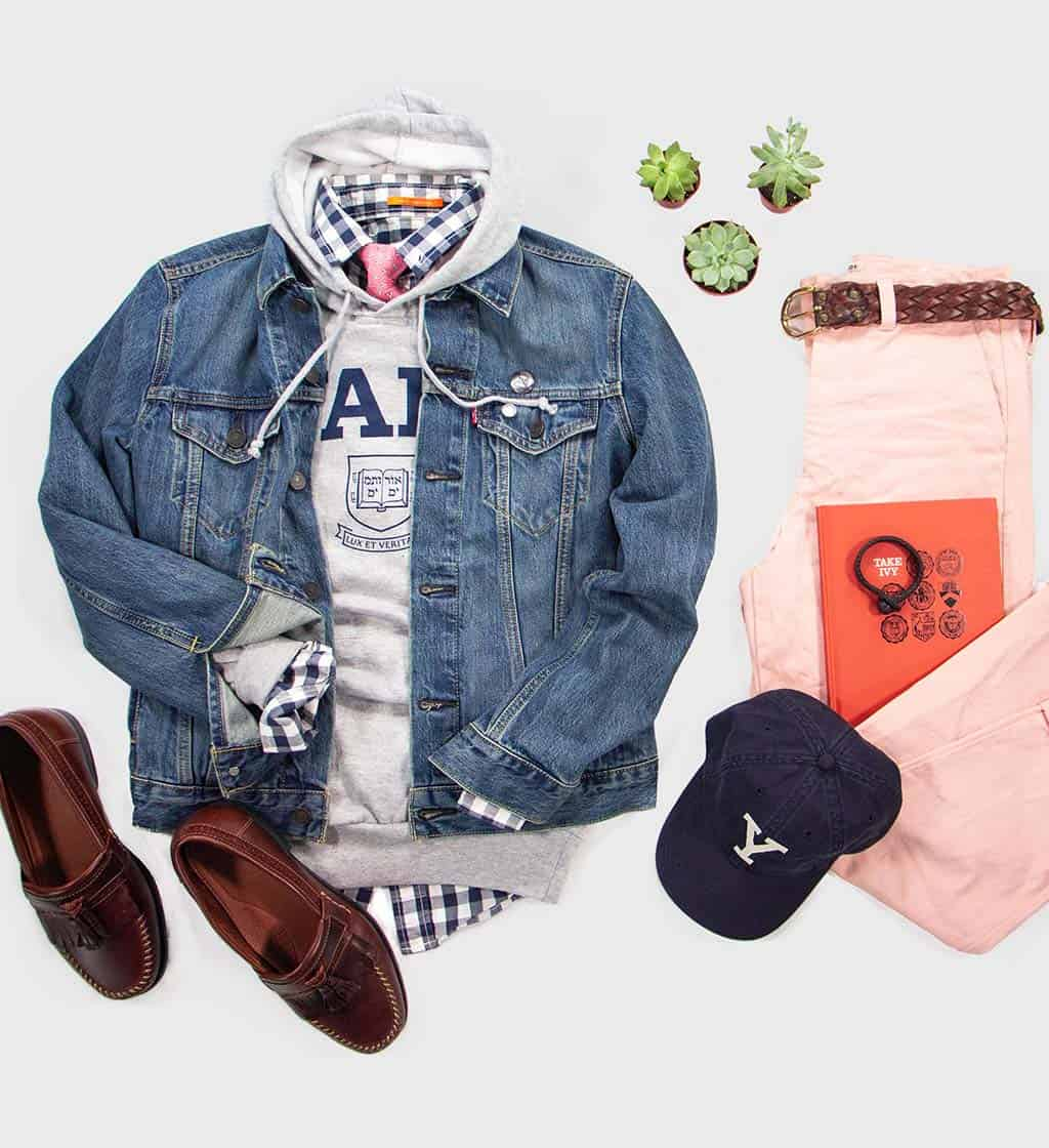 Yale Hoodie Outfit