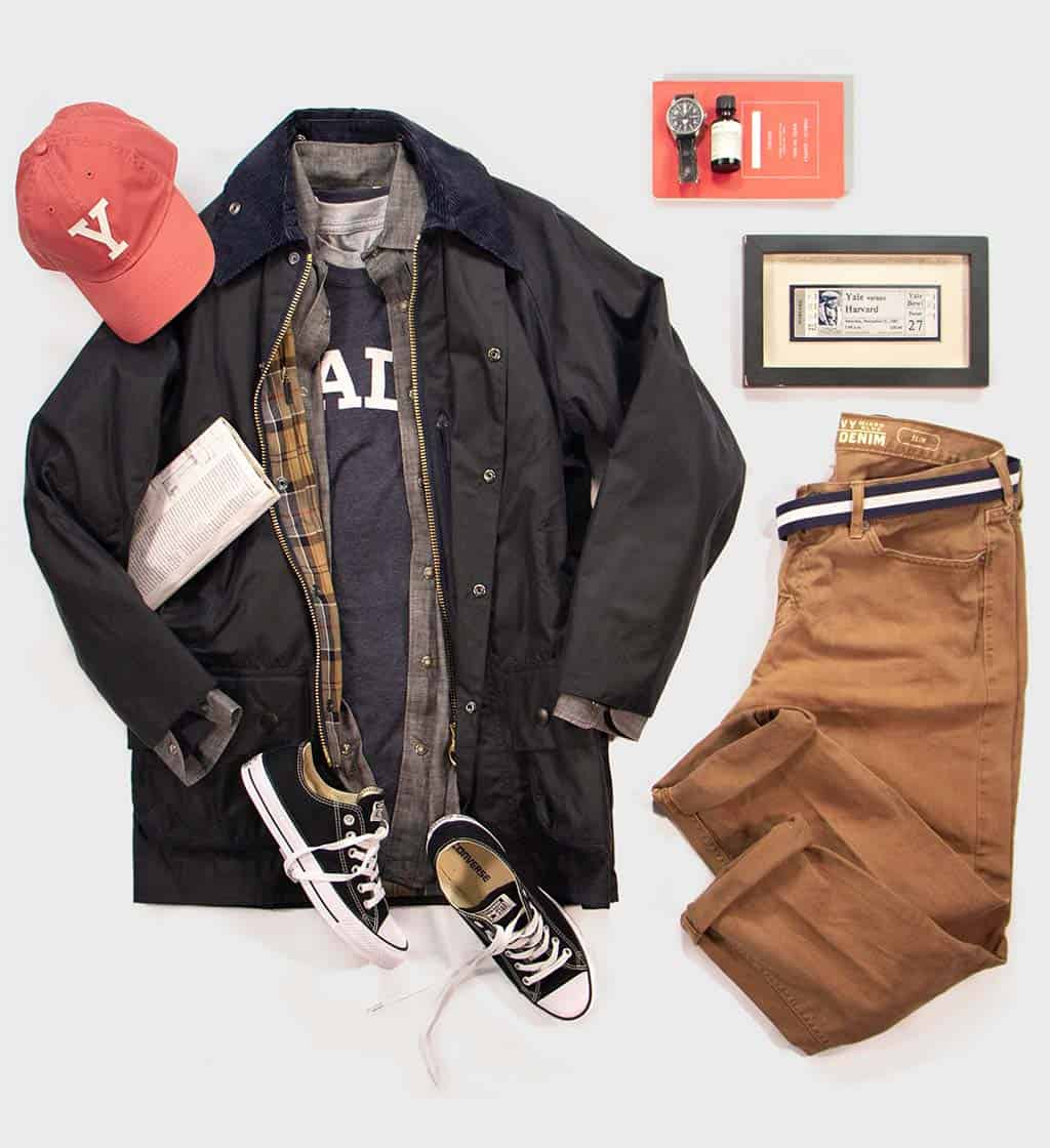 Yale Long Sleeve Outfit