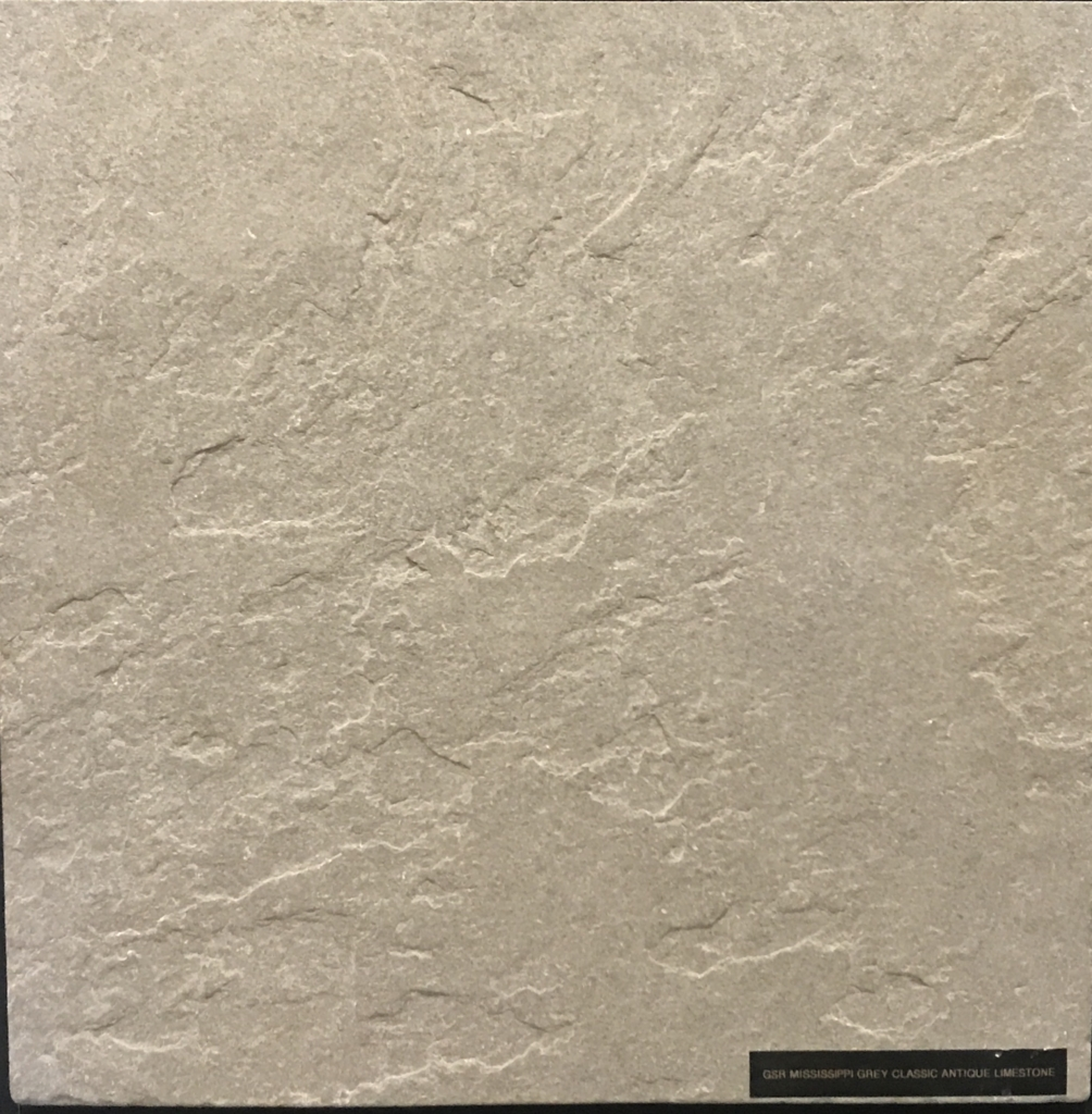 Mississippi Grey Limestone | Classic Antique Image