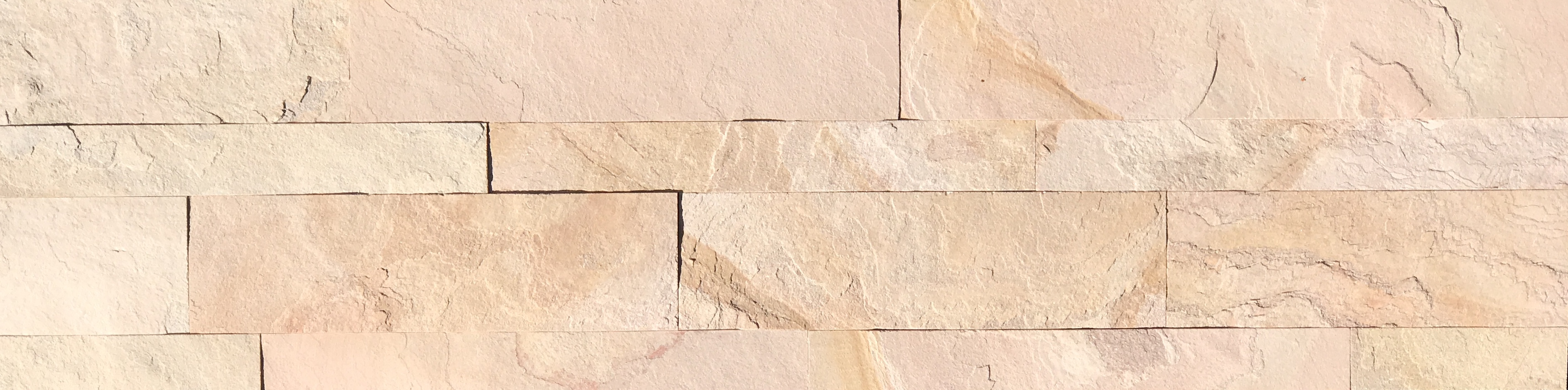 Indiana Honey Slimline Ledgestone Panel Image
