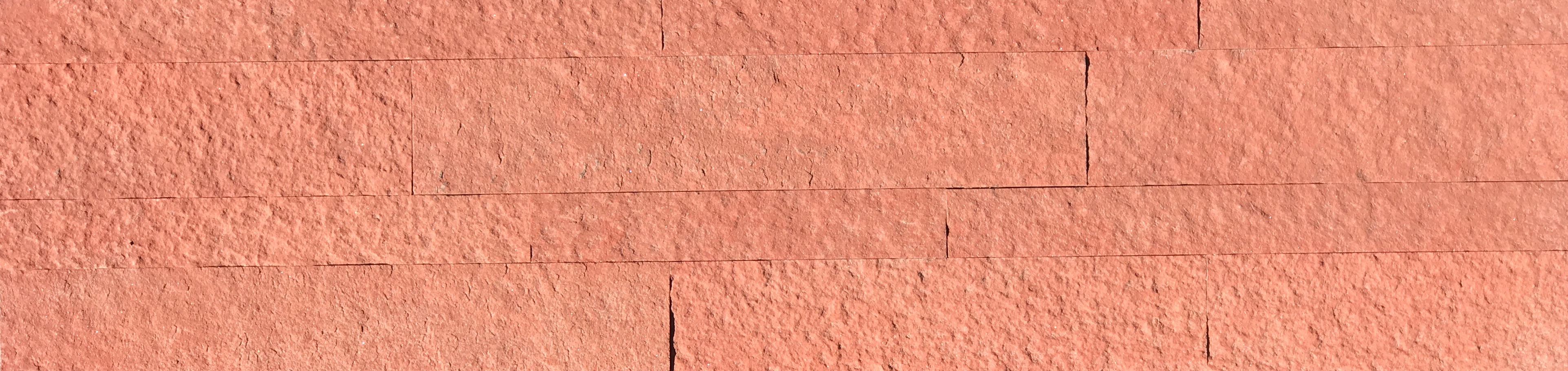 Terra Red Ledgestone Slimline Panel Image