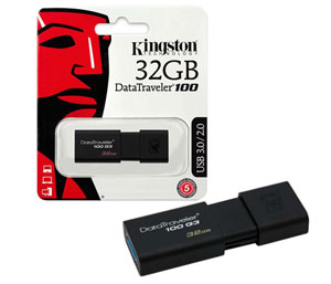 Kingston DataTraveler 100 G3 USB 3.0 - 32GB
