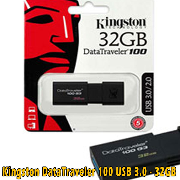 Kingston Data Traveler 100 G3  – 32GB