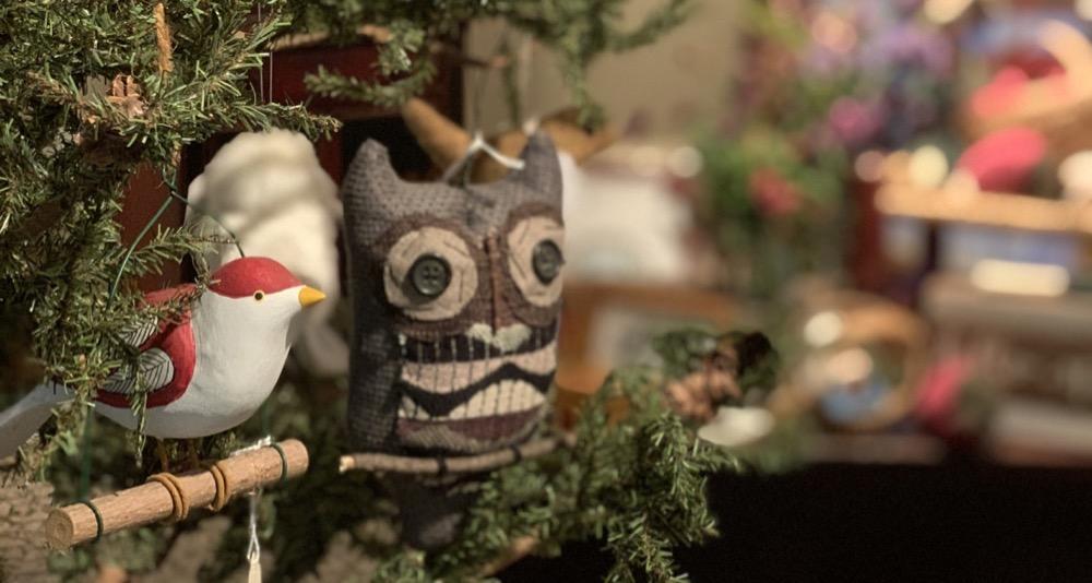 Bird and Owl Ornaments Home Decor