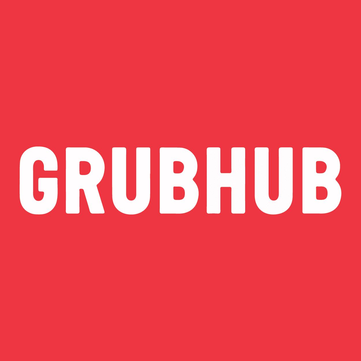 Boton Grubhub