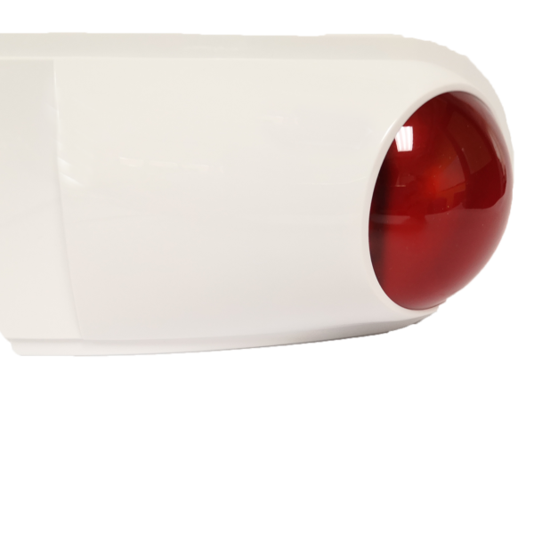 Siren with Strobe Light ( Red )