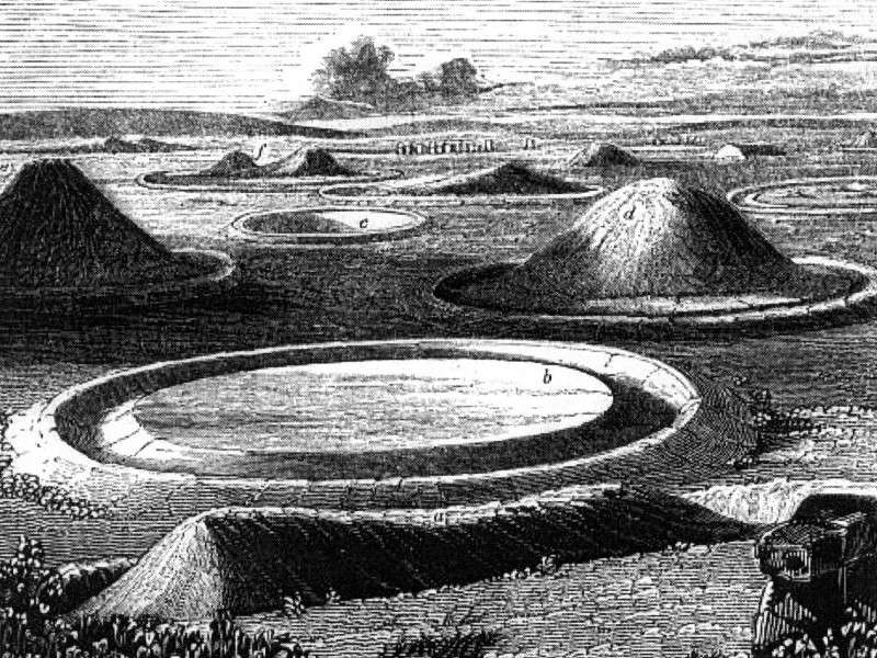 England Mounds
