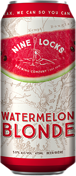 watermelon blonde beer can