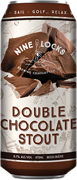 double chocolate stout  beer can