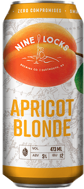 apricot blonde beer can