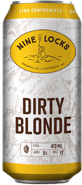 dirty blonde  beer can
