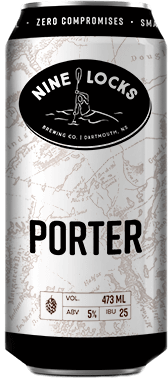 porter beer can