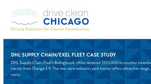 DHL Orange EV Case Study