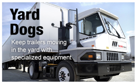 Yard Dogs: Keep trailers moving in the yard with specialized equipment. Article and image from todaystrucking.com