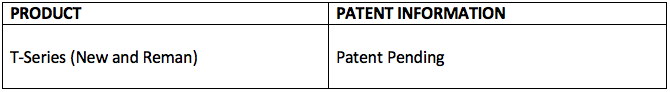 OEV Patents