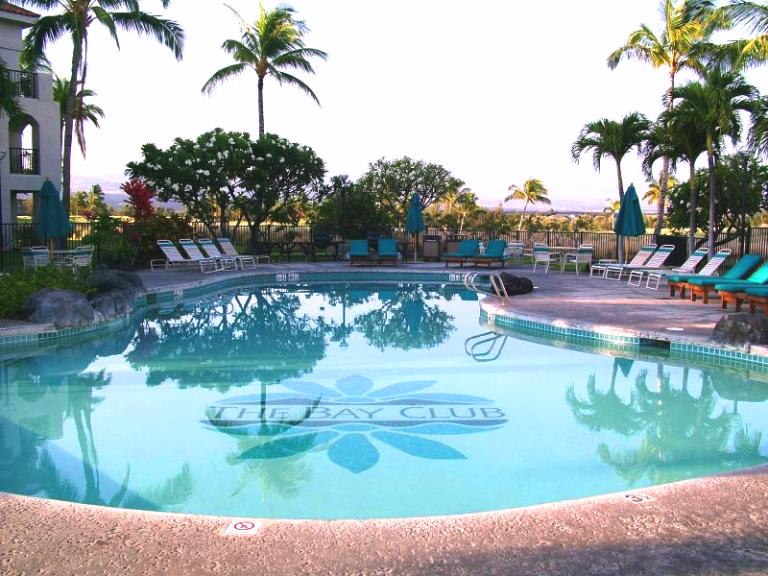 The Bay Club at Waikoloa Beach 2016 One Bedroom & Two bedroom Maintenance Fees