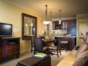 Westin Kaanapali Ocean Resort Villas Living Area