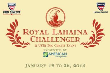 Royal Lahaina Challenger 2014 USTA Event Seeks Volunteers