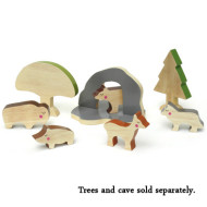 Cheekeyes Wooden Animal Sets from Oompa