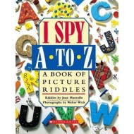 I SPY A to Z: Book of Picture Riddles Review and an Amazing Giveaway