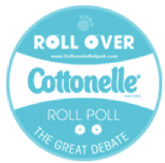 Cottonelle's Big Roll Poll: OVER or UNDER?