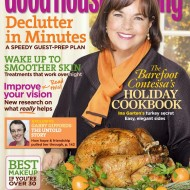 Barefoot Contessa's Ina Garten on the November Cover of Good Housekeeping