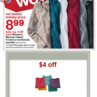 Target *HOT* Deal: Merona Women's Sweaters for Only $4.99!