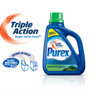 *LIMITED TIME ONLY* FREE Sample of Purex Triple Action Liquid