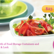Plum District: $50 Voucher for Storage Containers from Lock & Lock as Low as $15.70