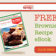 FREE Brownie Recipe eBook from American Family