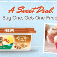 Buy One, Get One FREE Land O Lakes Cinnamon Sugar Butter (After Rebate)