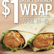 Burger King: $1 Chicken Wraps (Last Day Today!)