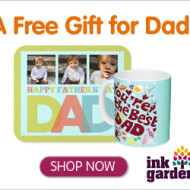 Ink Garden: Free Gifts For Dad- Just Pay Shipping!