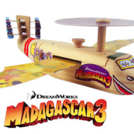 Lowe's Build & Grow : FREE Madagascar 3 Projects for Kids