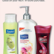 Walgreens: FREE Suave Shampoo and Conditioner!
