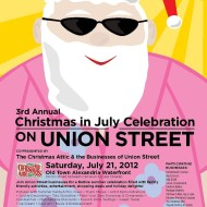 Local Family-Friendly Event: 3rd Annual Christmas in July Celebration in Historic Old Town Alexandria, Virginia