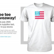 JCPenney: FREE Go USA T-Shirt With Purchase (Starting Tomorrow, 7/26)