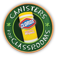 2 FREE Clorox Wipes Canisters for Teachers!
